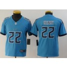 Youth Tennessee Titans #22 Derrick Henry Limited Light Blue Vapor Untouchable Jersey