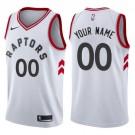Youth Toronto Raptors Customized White Icon Swingman Nike Jersey