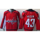 Youth Washington Capitals #43 Tom Wilson Red Jersey