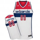 Youth Washington Wizards Customized White Swingman Adidas Jersey