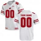 Youth Wisconsin Badgers UA Customized White UA Jersey