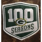 Green Bay Packers 100 Seasons Patch
