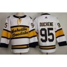Men's Nashville Predators #95 Matt Duchene White 2020 Winter Classic Authentic Jersey