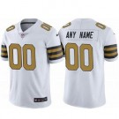Men's New Orleans Saints Customized Limited White Rush Color Jersey