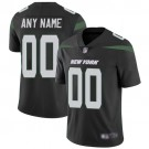 Men's New York Jets Customized Limited Black Vapor Untouchable Jersey