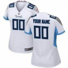 Women's Tennessee Titans Customized Game White Jersey
