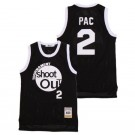Men's Above The Rim #2 Pac Motaw Tournament Shoot Out Black Basketball Jersey