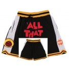Men's All That Black All That Basketball Shorts