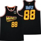 Men's Back To The Future #88 Marty McFly Black Basketball Jersey