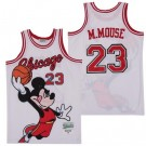 Men's Chicago #23 Mickey Mouse White Basketball Jersey