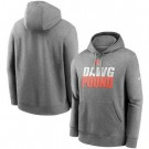 Men's Cleveland Browns Heathered Gray Fan Gear Local Club Pullover Hoodie