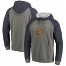 Men's Cleveland Cavaliers Gray Printed Pullover Hoodie
