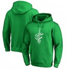 Men's Cleveland Cavaliers Green Red Printed Pullover Hoodie
