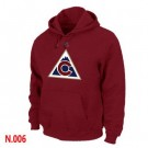 Men's Colorado Avalanche Red Printed Pullover Hoodie