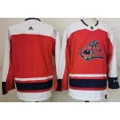Men's Columbus Blue Jackets Blank Red Special Authentic Jersey