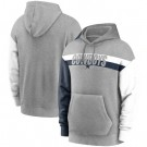 Men's Dallas Cowboys Gray Heathered Heritage Tri Blend Pullover Hoodie