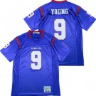 Men's DeMatha Catholic High School #9 Chase Young Blue Football Jersey