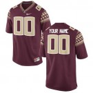 Men's Florida State Seminoles Customized Red College Football Jersey