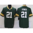 Men's Green Bay Packers #21 Eric Stokes Limited Green Vapor Untouchable Jersey