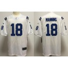 Men's Indianapolis Colts #18 Peyton Manning Limited White Vapor Untouchable Jersey