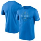 Men's Los Angeles Chargers Powder Blue Icon Performance T-Shirt