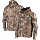 Men's Los Angeles Chargers Realtree Camo Champion Tech Fleece Pullover Hoodie