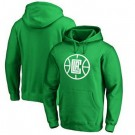 Men's Los Angeles Clippers Green Printed Pullover Hoodie