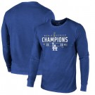 Men's Los Angeles Dodgers 2020 World Series Champions Pullover Hoodie 1011