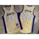 Men's Los Angeles Lakers #24 Kobe Bryant Gold 2020 Hall of Fame Commemorative Authentic Jersey