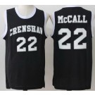 Men's Love and Basketball Crenshaw #22 Quincy Mcall Black Basketball Jersey