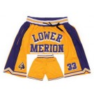 Men's Lower Merion High School Yellow Just Don Shorts