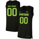 Men's Michigan State Spartans Customized Black 2019 College Basketball Jersey