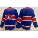 Men's Montreal Canadiens Blank Blue Special 2021 Authentic Jersey