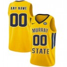 Men's Murray State Racers Customized Yellow College Basketball Jersey