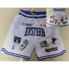 Men's NBA White All Teams Eastern All Star Just Don Shorts