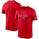 Men's New England Patriots Red Icon Performance T-Shirt