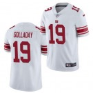 Men's New York Giants #19 Kenny Golladay Limited White Vapor Untouchable Jersey