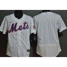 Men's New York Mets Blank White FlexBase Jersey