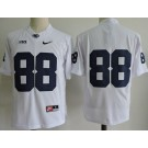 Men's Penn State Nittany Lions #88 Mike Gesicki White College Football Jersey