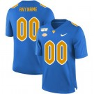 Men's Pittsburgh Panthers Customized Blue College Football Jersey