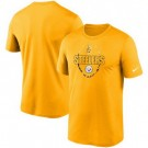 Men's Pittsburgh Steelers Gold Icon Performance T-Shirt