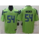 Men's Seattle Seahawks #54 Bobby Wagner Limited Green Rush Color Jersey