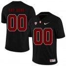 Men's Stanford Cardinals Customized Black Rush Color 2019 College Football Jersey