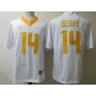 Men's Tennessee Volunteers #14 Eric Berry White College Football Jersey