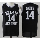 Men's The Fresh Prince Bel Air Academy #14 Will Smith Black Basketball Jersey
