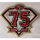 San Francisco 49ers 75th Anniversary Patch