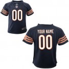 Toddler Chicago Bears Customized Game Navy Jersey