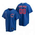 Toddler Chicago Cubs Customized Blue Alternate 2020 Cool Base Jersey