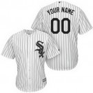 Toddler Chicago White Sox Customized White Stripes Cool Base Jersey