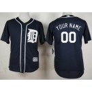 Toddler Detroit Tigers Customized Navy Blue Cool Base Jersey